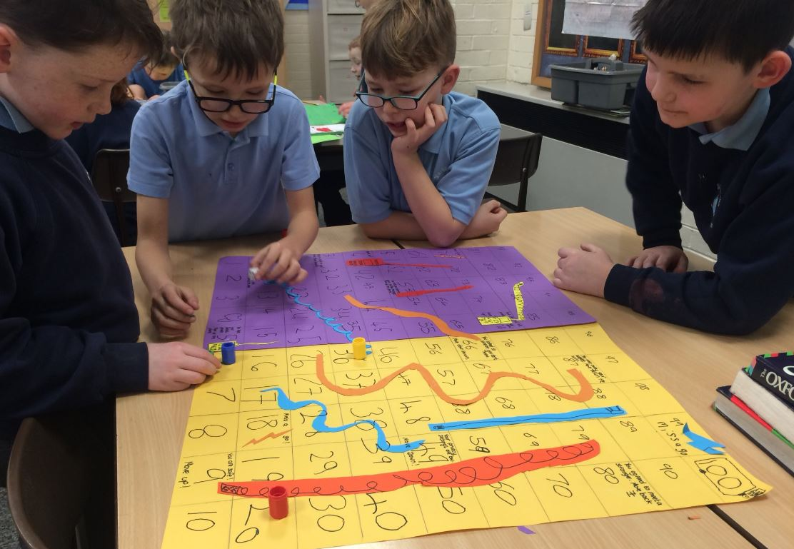 Keeping Safe Week in School - Making and Playing Internet Safety Board Games