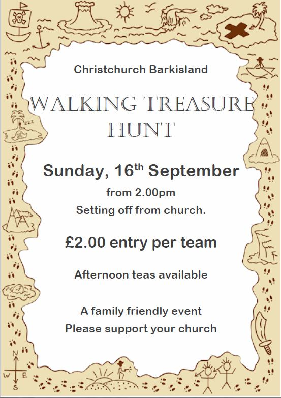 Walking Treasure Hunt 2018